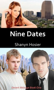 Nine Dates, Desert Menage, Shanyn Hosier