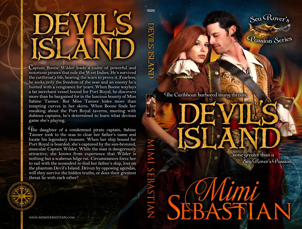 Devil's Island, pirates, Mimi Sebastian, sea rovers passion