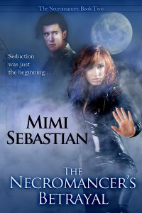 The Necromancer's Betrayal, Necromancer Series, Mimi Sebastian, zombies, Ruby Montagne