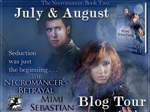 Bewitching Book Tours, Necromancer's Betrayal, Mimi Sebastian, paranormal, romance