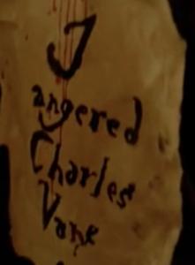 Black Sails, episode XI, Charles Vane